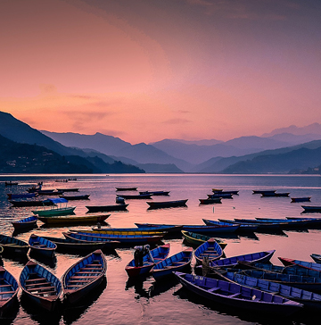 Pokhara Evening
